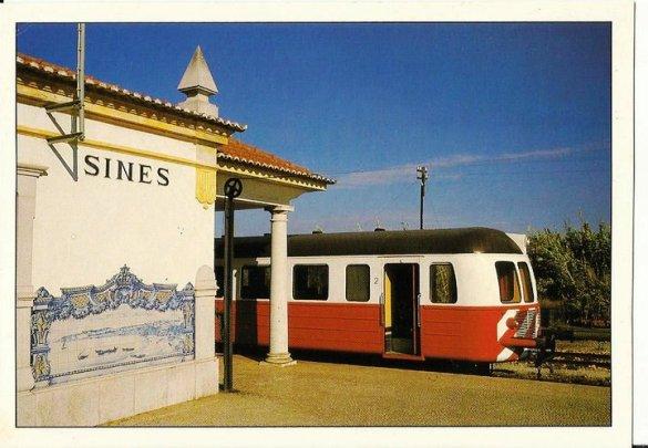 combóio em Sines 1989